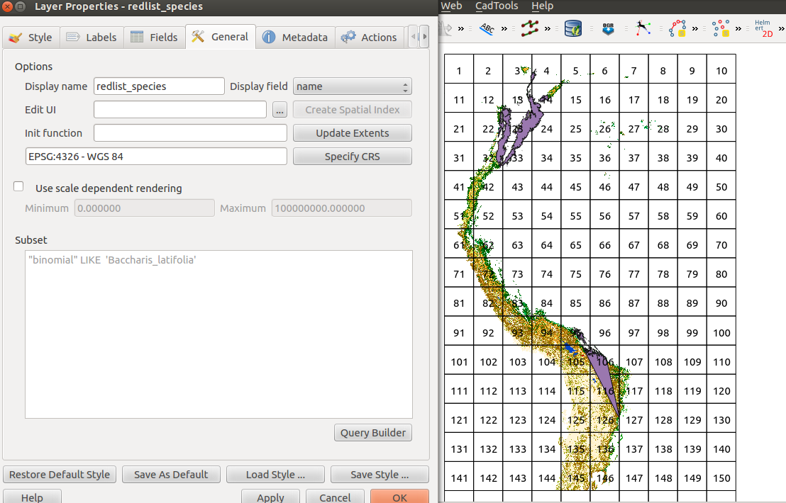 Loading raster data in PostGIS and visualising the results in QGIS